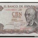 Monedas Franco: R43.BAUL/ ESPAÑA, BILLETE 100 PESETAS, 12 DE NOVIEMBRE DE 1970 -MANUEL DE FALLA -. Lote 136003322