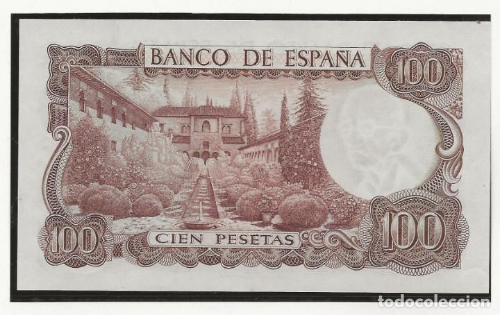 Monedas Franco: R43.BAUL/ ESPAÑA, BILLETE 100 PESETAS, 12 DE NOVIEMBRE DE 1970 -MANUEL DE FALLA - - Foto 2 - 136003322