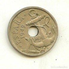 Monedas Franco: DOS MONEDAS DE 50 CÉNTIMOS 1949. Lote 137174982