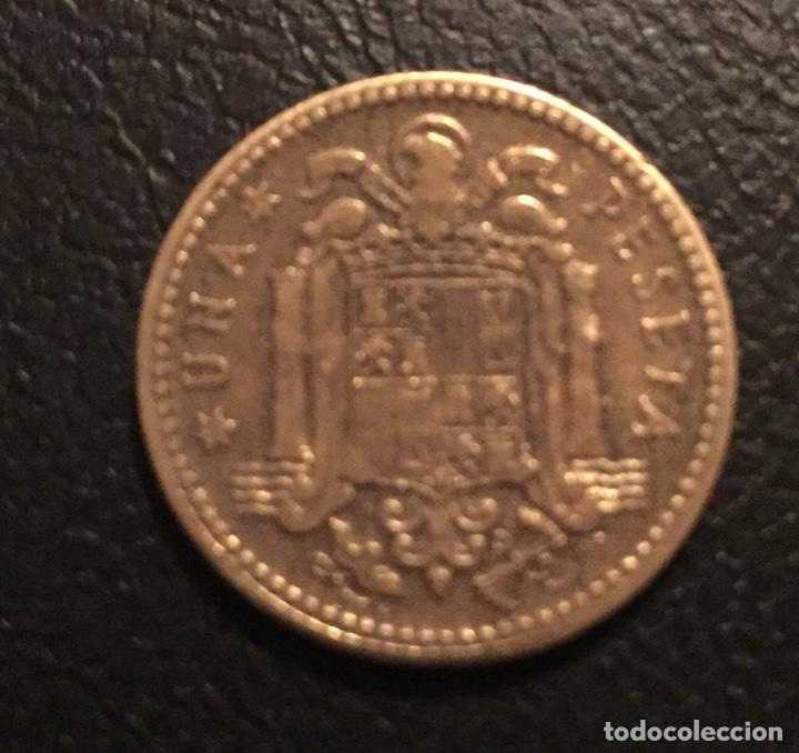 1 PESETA 1947 ESTRELLA 50 (Numismática - España Modernas y Contemporáneas - Estado Español)