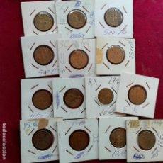 Monedas Franco: PESETA DE 1944. LOTE DE 14 MONEDAS SELECCIONADAS. EBC. Lote 137316078