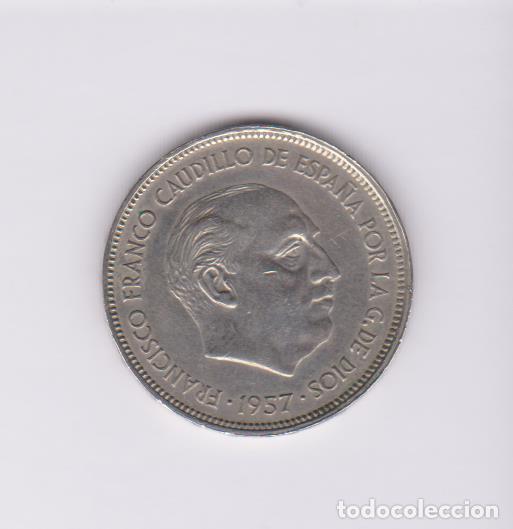 MONEDAS - ESTADO ESPAÑOL - 25 PESETAS 1957 (BA) - PG-361 (MBC) (Numismática - España Modernas y Contemporáneas - Estado Español)