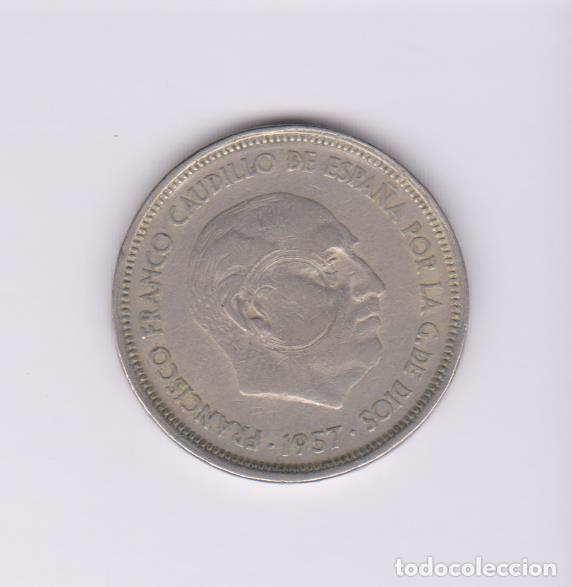MONEDAS - ESTADO ESPAÑOL - 50 PESETAS 1957 (BA) - PG-362 (MBC-) (Numismática - España Modernas y Contemporáneas - Estado Español)