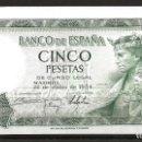 Monedas Franco: R60.BAUL_2/ ESPAÑA, BILLETE DE 5 PESETAS, SIN CIRCULAR, JULIO DE 1954. Lote 138684198