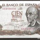 Monedas Franco: R60.BAUL_2/ ESPAÑA, BILLETE DE 100 PESETAS, SIN CIRCULAR, NOV. DE 1970. Lote 138684726