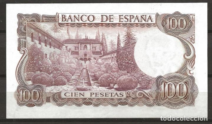 Monedas Franco: R60.BAUL_2/ ESPAÑA, BILLETE DE 100 PESETAS, SIN CIRCULAR, NOV. DE 1970 - Foto 2 - 138684726
