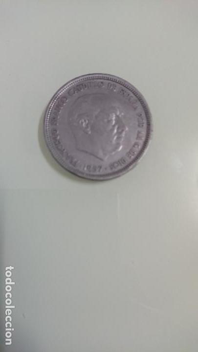 MONEDA CINCUENTA PESETAS 1957 (Numismática - España Modernas y Contemporáneas - Estado Español)