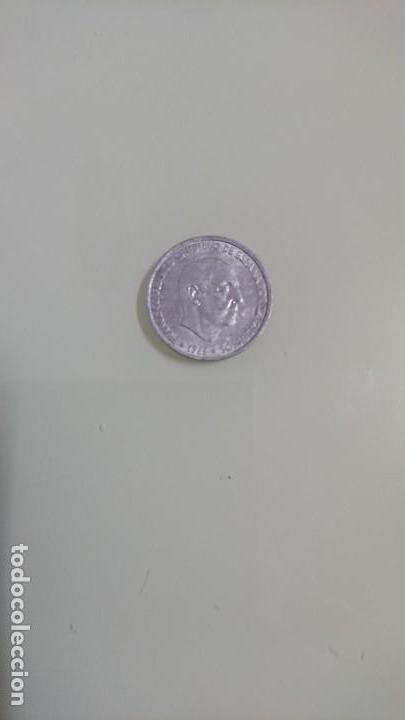 MONEDA CINCUENTA CÉNTIMOS 1966 (Numismática - España Modernas y Contemporáneas - Estado Español)