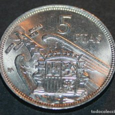 Monedas Franco: 5 PESETAS DE 1957 - FRANCO - * BA. Lote 138836014