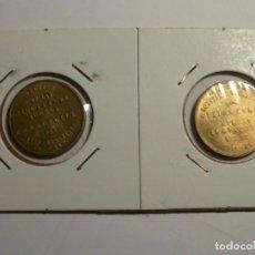 Monedas Franco: SERIE DE 2 MONEDAS DE 1 PSTA NAVAL TALLERES SAN CARLOS. Lote 138861858