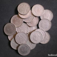 Monedas Franco: 20 MONEDAS DE 5 PESETAS (DUROS) FRANCO. Lote 139444438