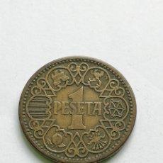 Monedas Franco: ## BONITA PESETA DE 1944 ##. Lote 139906530