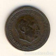 Monedas Franco: 1 PESETA DE 1947.- *53.- (4). Lote 140113818
