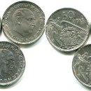 Monedas Franco: 50 PESETAS 1957-58-59-60-67-71 S/C MENOS LA 71 PERO PERFECTA ESTRELLAS Y LEYENDAS. Lote 140580282
