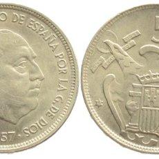 Monedas Franco: 50 PESETAS 1957*67 S/C-. Lote 140755102