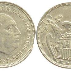 Monedas Franco: 5 PESETAS 1957*75 (ERROR). Lote 140756534