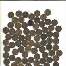 Monedas Franco: LOTE DE 100 MONEDAS DE UNA PESETA DE 1944. Lote 141352870