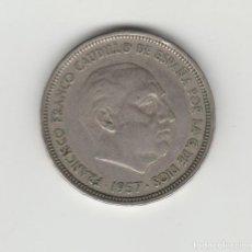 Monedas Franco: 50 PESETAS 1957-BA. Lote 141958330