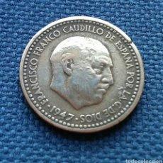 Monedas Franco: 1 PESETA 1947 *19*50. Lote 142375682
