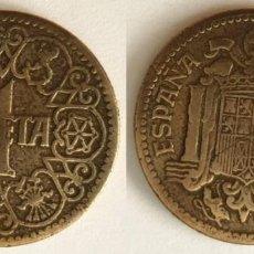 Monedas Franco: ESPAÑA - 1 PESETA, 1944 - KM# 767. Lote 142427130