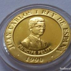 Monedas Franco: ESPAÑA -MONEDA- 10000 PESETAS 1990 ORO GOLD SC UNC ( G041 ). Lote 116621391