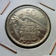 Monedas Franco: 50 PESETAS 1957*60 SC. Lote 142939470