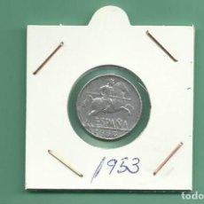 Monedas Franco: ESPAÑA-ESTADO ESPAÑOL. 5 CÉNTIMOS 1953. DIFICIL. Lote 143080646