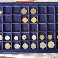 Monedas Franco: M1ESP - ESPAÑA DE FRANCO, REPUBLICA Y ANTERIOR 19 MONEDAS. Lote 143106702