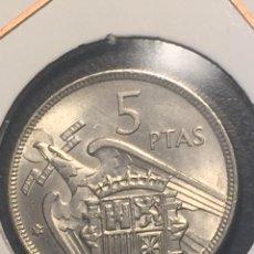 Monedas Franco: MONEDA 5 PESETAS FRANCO 1970 EBC++ PATINA ORIGINAL. Lote 143325700