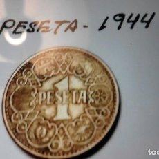 Monedas Franco: MONEDA DE 1 PESETA 1944. Lote 143550266