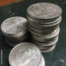 Monedas Franco: LOTE DE 36 MONEDAS DE PLATA DE 100 PESETAS DE FRANCO DE 1966. Lote 143571770