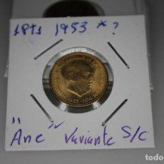Monedas Franco: ESPAÑA 1 PESETA 1953- 19/? S/C . Lote 143851394