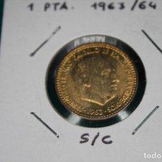 Monedas Franco: ESPAÑA 1 PESETA 1963- 19/64 S/C . Lote 143851434