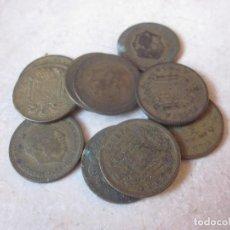 Monedas Franco: LOTE 10 MONEDAS 1 PESETA 1953. Lote 144921622