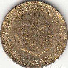 Monedas Franco: FRANCO: 1 PESETA 1963 ESTRELLA 19-66. Lote 30241932