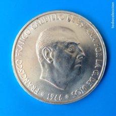 Monedas Franco: ESTADO ESPAÑOL 100 PESETAS PLATA 1966 *19-68 S/C-. Lote 145151228