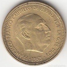 Monedas Franco: FRANCO: 2,50 PESETAS 1953 ESTRELLA 19-54 / EXCELENTE CONSERVACION. Lote 29500540