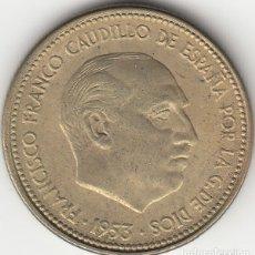 Monedas Franco: FRANCO: 2,50 PESETAS 1953 ESTRELLA 19-56 / EXCELENTE CONSERVACION. Lote 29500567