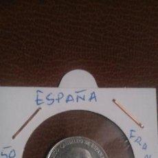 Monedas Franco: MONEDA 50 CTS, FRANCO 1966,E,72. Lote 145625234