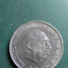 Monedas Franco: MONEDA 5 PESETAS 1949 *49. Lote 145822546