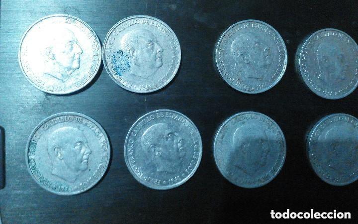 Monedas Franco: 50 CENTIMOS 1966 LOTE DE 8 MONEDAS - Foto 3 - 147606450