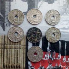 Monedas Franco: LOTE DE 7 MONEDAS DE 50 CÉNTIMOS DE 1949 - 2 CON LAS FLECHAS INVERTIDAS. Lote 147786542