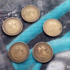 Monedas Franco: LOTE DE 9 MONEDAS DE 2,50 PESETAS DE FRANCISCO FRANCO - 1953 - *19 / *54 - *56. Lote 147787710