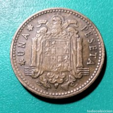 Monedas Franco: ESPAÑA. 1 PESETA 1947 *56. Lote 148500961