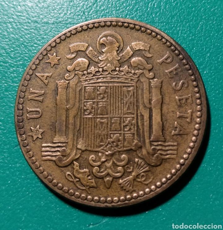 ESPAÑA. 1 PESETA 1947 *48 (Numismática - España Modernas y Contemporáneas - Estado Español)
