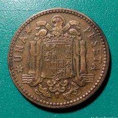 Monedas Franco: ESPAÑA. 1 PESETA 1947 *48. Lote 148507132