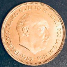 Monedas Franco: 25 PESETAS FRANCO 1957 ESTRELLA 65.-SIN CIRCULAR. Lote 148586158