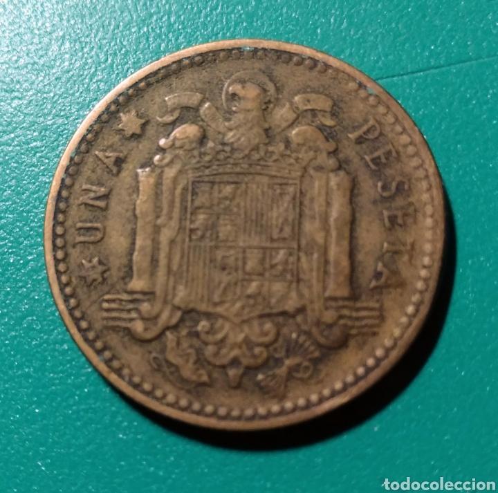 ESPAÑA. 1 PESETA 1947 *53 (Numismática - España Modernas y Contemporáneas - Estado Español)