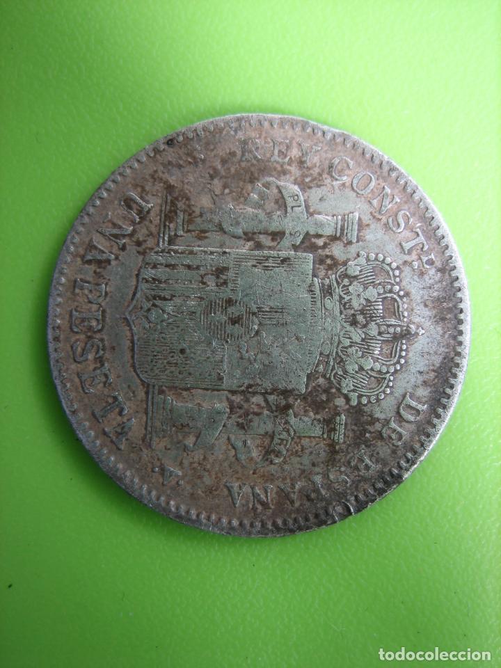 Monedas Franco: Moneda de plata de Alfonso XIII. 1900 - Foto 6 - 194332006