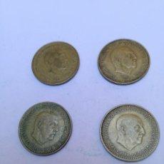 Monedas Franco: 1 PESETA ESTADO ESPAÑOL 1966*1970. Lote 150348918